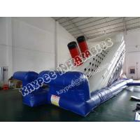 Wholesale Hot sell Inflatable Titanic slide, ,Inflatable boat slide,standard slide from china suppliers