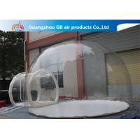 Wholesale 0.7mm Transparent Pvc Inflatable Camping Bubble Tent With Floor CE UL EN14960 from china suppliers