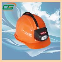 Buy cheap Msha Approved 4.5ah Rechargeable Mining Hard Hat LED Lights , Waterproof from wholesalers
