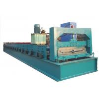 Wholesale High Speed Step Tile Roll Forming Machine / Tiles Making Machine With 19 Rollers from china suppliers