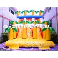 Wholesale 2017 Popular Forest Double Lane Inflatable Slide, Hottest Customized Two Lane Inflatable Slide for Adults from china suppliers