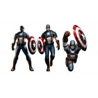 Wholesale Captain American 3D Lenticular Poster Printing / Custom Lenticular Posters from china suppliers