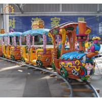 Wholesale Pirate Design Amusement Train Rides Outdoor Playground Amusement Track Train from china suppliers
