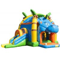 China Attractive Inflatable Toddler Bounce House With Slide , Commercial Inflatable Jump House on sale