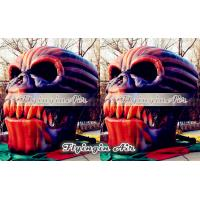 Wholesale New Halloween Decorative Inflatable Skull with Blower for Halloween Show from china suppliers
