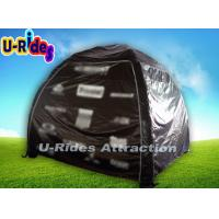 Wholesale Custom Logo Black Inflatable Dome Tent , Dome Inflatable Tent For Advertisement from china suppliers