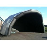 Quality Customized Giant Inflatable Stage Cover Black Large Inflatable Event Tent for sale