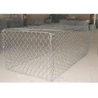 Wholesale Zinc Coated Galfan Pvc Coated Gabion Box / Basket Gabion Mesh 100*120mm from china suppliers