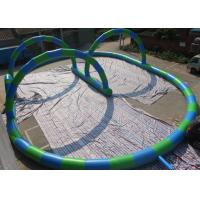 Wholesale EN14960 Inflatable Bearing Sliding Human Zorb Ball Track For Sports Games from china suppliers