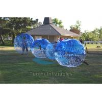 Wholesale Blue Clear Bubble Ball Game Portable Inflatable Body Bumper Ball from china suppliers
