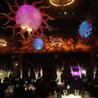Wholesale Decorative LED Inflatable Star and Sun for Party, Club and Event Supplies from china suppliers