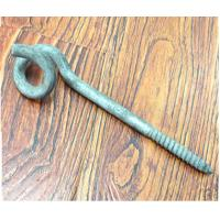Wholesale HDG Lag Thread Screw Hook Bolt / Pigtail Eye Bolt Carbon Steel Material from china suppliers