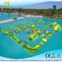Wholesale Hansel amazing indoor inflatable water bouncer for lake and seaside from china suppliers