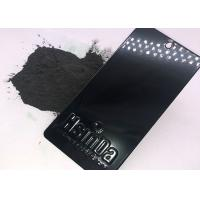 Wholesale Ral 9005 Black Epoxy Polyester Powder Coating , Decorative Powder Coating Plant from china suppliers