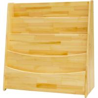 Wholesale education toddler bookshelf solid wood bookcase for primary school from china suppliers