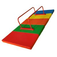 Wholesale Outdoor Mini Gymnastics Equipment , Metal Parallel Bars Fitness With Mat from china suppliers
