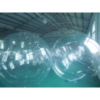 Wholesale 30% TPU 70% PVC Clear Inflatable Water Walking Ball, Walk Inside Ball YHWB-015 with Dia 2m from china suppliers