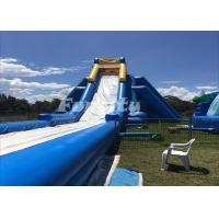 Wholesale 50 Meter Long Inflatable Dry Slide Customized Hippo Water Slide For Fun from china suppliers