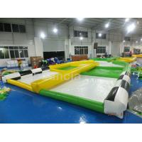 Wholesale 0.55mm PVC Tarpaulin Inflatable Zorb Ball Track For Zorb Ball Games from china suppliers