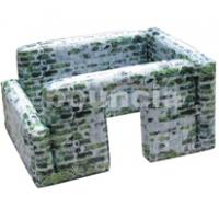 Wholesale 0.9mm Inflatable Paintball Bunker Inflatable Blindage from china suppliers