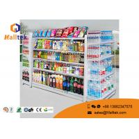 Wholesale Adjustable Color Supermarket Gondola Shelving Strong Construction Capacity from china suppliers