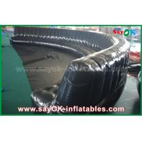 Wholesale Eco-friendly Custom Inflatable Products 6 - 10m Black Hermetically Sealed 0.6mm PVC Inflatable Sofa from china suppliers
