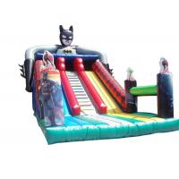 Wholesale Batman Dry Outdoor Inflatable Slide Durable 0.55 PVC Tarpaulin For Childs from china suppliers