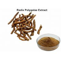 Buy cheap Radix Polygalae Natural Plant Extracts With 8% Total Saponins Anti - Depression from wholesalers