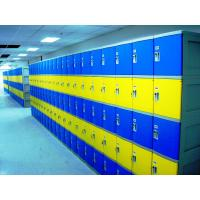 Wholesale Red School Lockers With Keyless Lock , Factory price plastic employee ABS lockers from china suppliers
