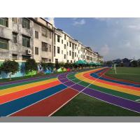 Wholesale High Elasticity EPDM Crumb Rubber / Rubber Running Track Flooring from china suppliers