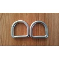Wholesale High Strength Safety D Rings Zinc Plated Buckle D Rings With Hot Forged from china suppliers