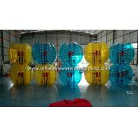 Wholesale Colorful TPU Inflatable Bubble Ball Toy , Outdoor Sports Human Bumper Ball from china suppliers
