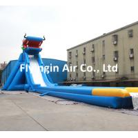 Wholesale Giant Pvc Inflatable Water Slide with Blower for Kids and Adult Game from china suppliers