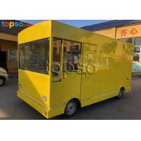 China Runing Electric Mobile Food Truck Catering Heavy Duty For  Tourism Spots on sale