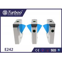 Wholesale Multiple Sensors Flap Barrier Turnstile Access Control For Metro Station from china suppliers