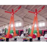 Wholesale Custom Orange Inflatable Advertising Sky Dancer for Advertisement from china suppliers