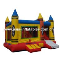 Wholesale Commercial pvc inflatable caryon castle, bouncy castle, inflatable slide for kids from china suppliers