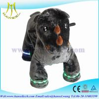 Wholesale Hansel motorized plush animals kids animal electrical ride from china suppliers
