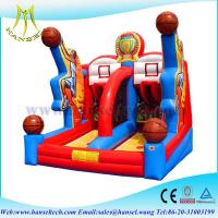 Wholesale Hansel Red inflatable Slam Dunk basketball game for children sports game from china suppliers