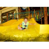 Wholesale Aqua Park Equipment Water Slides Fiber Glass with Open Flume from china suppliers
