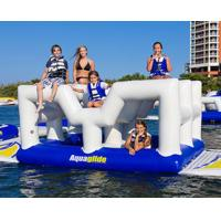 Wholesale Giant commercial inflatable water park floating island Inflatable aqua park from china suppliers