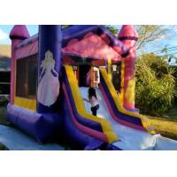 Quality Doll Princess Inflatable Jumping Castle / Jumping Blow Up Castle 4M× 6M× 4M for sale