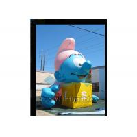 Wholesale Air Sealed Giant Advertising Balloons Inflatable Smurfs Replica Balloon from china suppliers