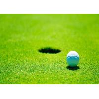 Wholesale 15mm Finest PE Artificial Turf For Golf Putting Green Lush Appearance 6000 Dtex from china suppliers