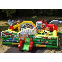 Wholesale Fun Multiplay Little Builders Construction Toddler Bouncer Playground from china suppliers