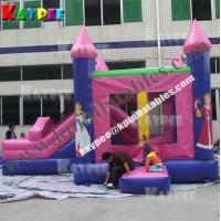 Wholesale KCB057 Princess combo ,inflatable combo game,princess bouncer with slide obstacle from china suppliers