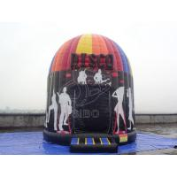 Wholesale PVC Tarpauline Inflatable Disco Dome Music Disco Moonwalk Tent For Party from china suppliers