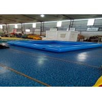 Buy cheap Large Inflatable Swimming Pool With Waterproof Plato PVC Tarpaulin from wholesalers