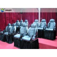 Wholesale 3 Seats Funny 7D Movie Theater Dynamic System Simulation Motion Rides Equipment from china suppliers