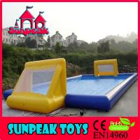 Wholesale F-010 Durable PVC Material Inflatable Soap Soccer Field from china suppliers